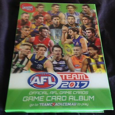 AFL 2017 Teamcoach Common Base Cards Complete Set All 234 Cards Plus Album