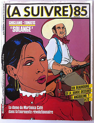 """A SUIVRE... n°85;  Ghigliano-Tomatis; """"Solange"""""""