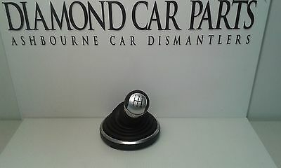 2003 On Ford Fiesta Mk6 Gear Lever Knob And Gaitor