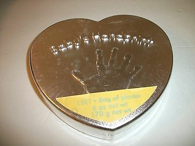Baby's Handprint Set Made 2010 By Stepping Stones New/Factory Sealed!