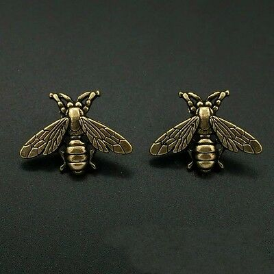 Vintage Style Gold Queen Bee Antique Brooch/Pin
