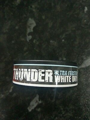 33 Mg Nicotine! Thunder Frosted Wd Ultra Strong Snus
