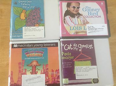 Lot of 4 -89 cents each!! - Children / Young Adult - ex library