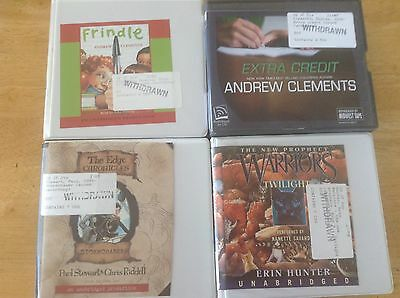 Lot of 4 - 89 cents each!! - Children / Young Adult - ex library