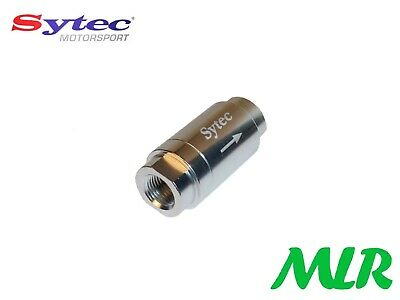 Sytec One Way Fuel Valve With 1/8Nptf Female Connections Injection Or Carb Azc