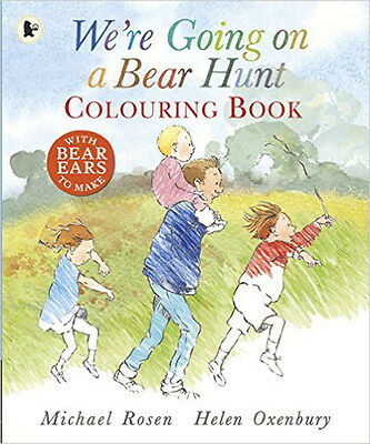 We're Going on a Bear Hunt: Colouring Book, New, Rosen, Michael Book
