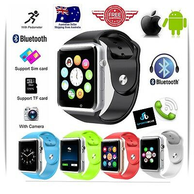 A1 Smart Watch GSM SIM for iPhone Samsung Lg Android(unlocked work with all sim)