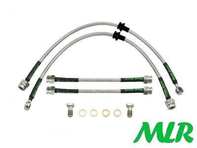 Audi A3 S3 Tfsi Tdi Quattro Stainless Steel Braided Brake Lines Hoses Pipes Xn