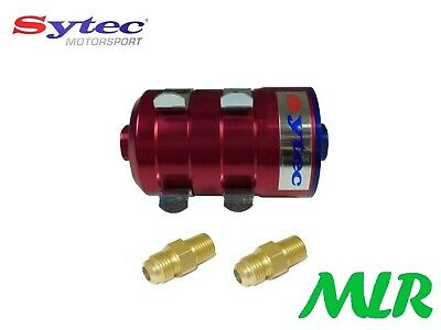 Fse Sytec Motorsport Bullet F1 Fuel Filter -6Jic Fittings Carb Or Injection Bbur