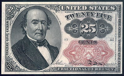 US 25c Fractional Currency FR1308 CH CU