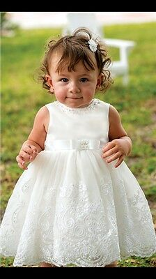 sarah louise cream christening bridesmaid dress BNWT RRP £74.99. 12 months.