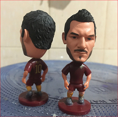 Statuina doll FRANCESCO TOTTI #10 AS ROMA calcio new football action figure 7 cm