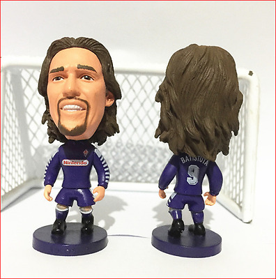 Statuina GABRIEL OMAR BATISTUTA #9 FIORENTINA doll toy football action figure