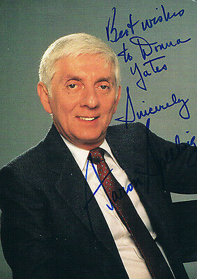 Arron Spelling American Tv Producer  -  Hand Signed Photograph