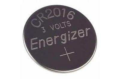 100-Pack CR2016 Energizer 3 Volt Lithium Coin Cell Batteries