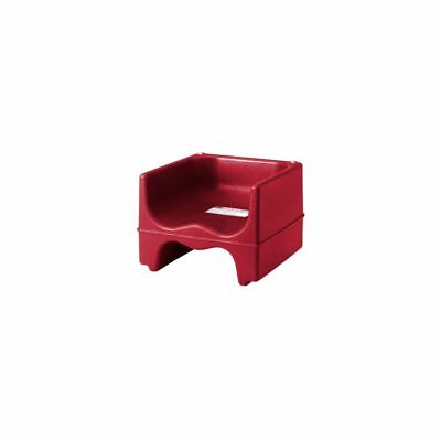 Cambro 200BC158 Hot Red Dual Seat Booster Seat without Strap
