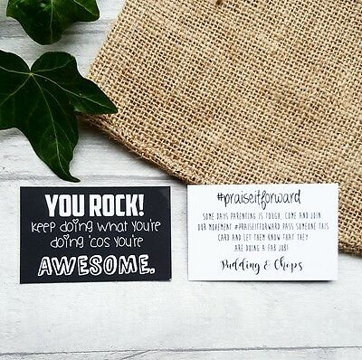 Praise it Forward Cards- parenting affirmation cards, well done, congratulations