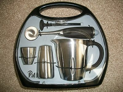 New 5 Piece Stainless Steel Espresso Accessory Kit