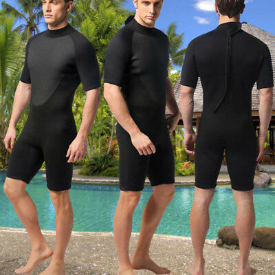 MagiDeal 3mm Neoprene Shorty Wetsuit for Surfing Diving Snorkeling