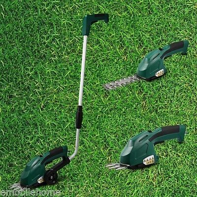 3.6V 2 in 1 Rechargeable Lawn Mower Garden Grass Cutting Lawnmower