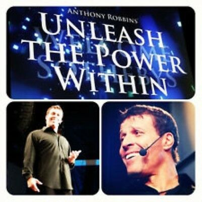 Anthony Robbins-Unleash the Power Within  [Hypnosis NLP Video Tutorials]