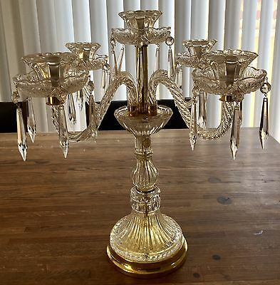 Vintage Crystal Candelabra ~ Exquisite & Gorgeous ~