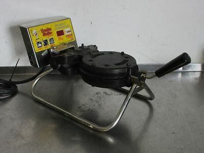 """CARBONS 8"""" RT-P COMMERCIAL WAFFLE CONE MAKER 120 Volts 1350 Watts"""