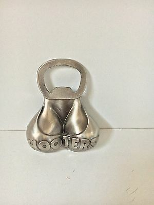 Hooters' Metal Magnet Bottle Opener Rare Collectible