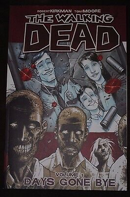 Lot: The Walking Dead TPBs-- Days Gone Bye and Miles Behind Us (Books 1 and 2)