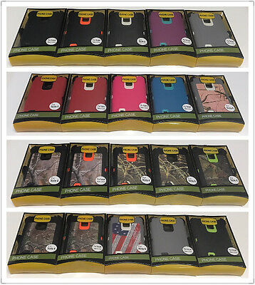 separation shoes 871be 5fdb0 FOR SAMSUNG GALAXY Note 4 Case Cover (Belt Clip fits Otterbox Defender  series)