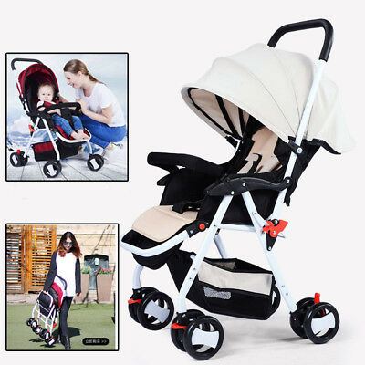 NewBorn Baby Stroller /Pram Fold Jogger Buggy Kid Toddler Pushchair 5 Color