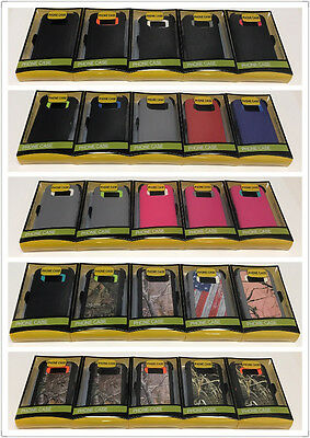 For Samsung Galaxy S6 S7 Case Cover (Belt Clip fits Otterbox Defender series)