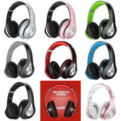 Mpow Universal Bluetooth Headphones Over Ear Wireless Headset Portable with Mic