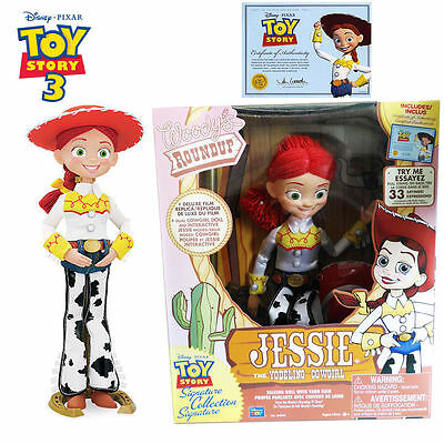 Disney Pixar Talking Jessie Toy Story Signature Collection Woody's Roundup Dolls