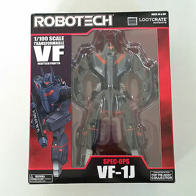 Robotech VF-1J Transformable Veritech Fighter LOOTCRATE EXCLUSIVE NEW