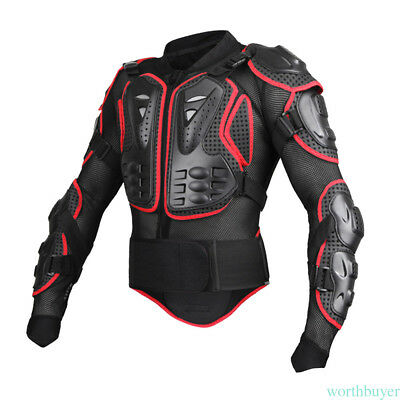 SALE Motorcycle Motorcross Racing Full Body Armor Spine Chest Protective Jacket