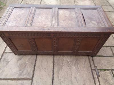 Antique 18th Century Coffer