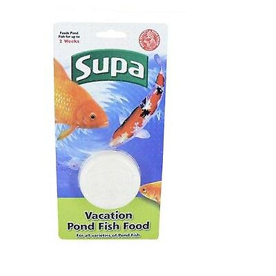 Supa Pond Holiday Vacation Block Feeds For 2 Weeks Slow Release x 2 PACK