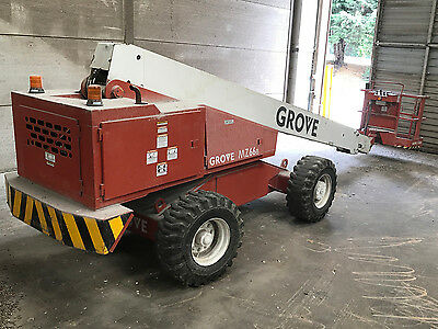 Grove towable cherry picker red (access platform)