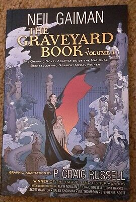 The Graveyard Book Graphic Novel: Volume 1 by Neil Gaiman Paperback Book (Englis