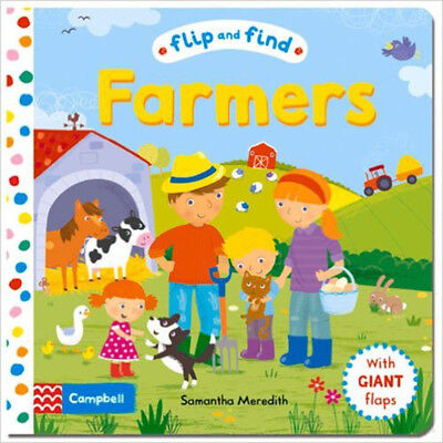 Flip and Find Farmers: a guess who/where flap book about farmers and their anima