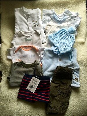 Pre-loved/ 0-3 Month/boy /Clothes Bundle B9