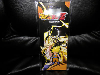 Anime Dragon Ball Z Super Saiyan Goku cosplay characters key ring keychain
