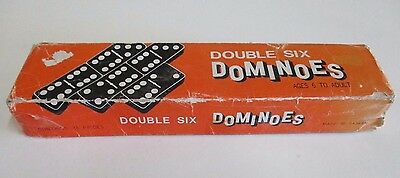 Vintage Double Six Dominoes Game - 28 Pieces - Made in Taiwan