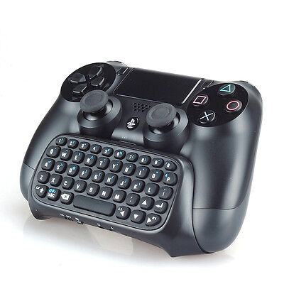 PS4 Keyboard Wireless Bluetooth ChatPad KeyPad For Sony Playstation 4 Controller