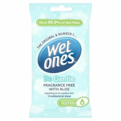 Wet Ones Be Gentle Cooling Wet Wipes 12 Pack