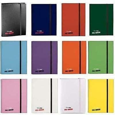 Ultra Pro Binder Album Folder Holds 360 Trading Cards 9 Pocket per page