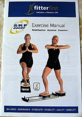 Fitter First SRF Board Exercise Manual Stabilization Rotation Function Fit Guide