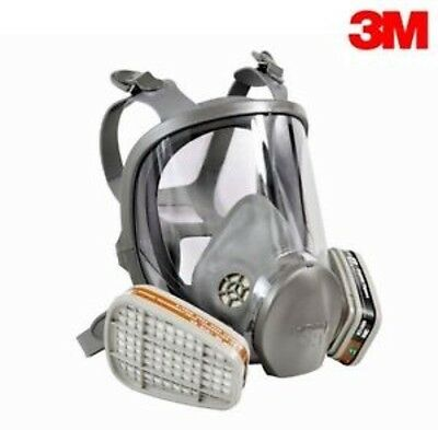 3M Full Face Mask Respirator Medium  With FREE Filters And Screen Protector!!!