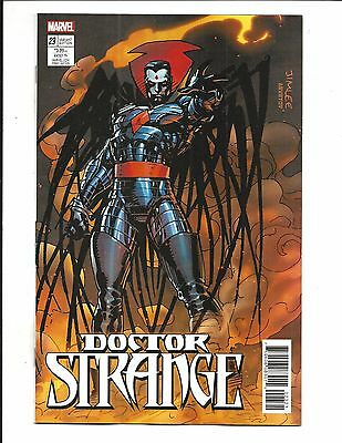 Doctor Strange # 23 (Jim Lee X-Men Card Variant, Sept 2017), Nm New
